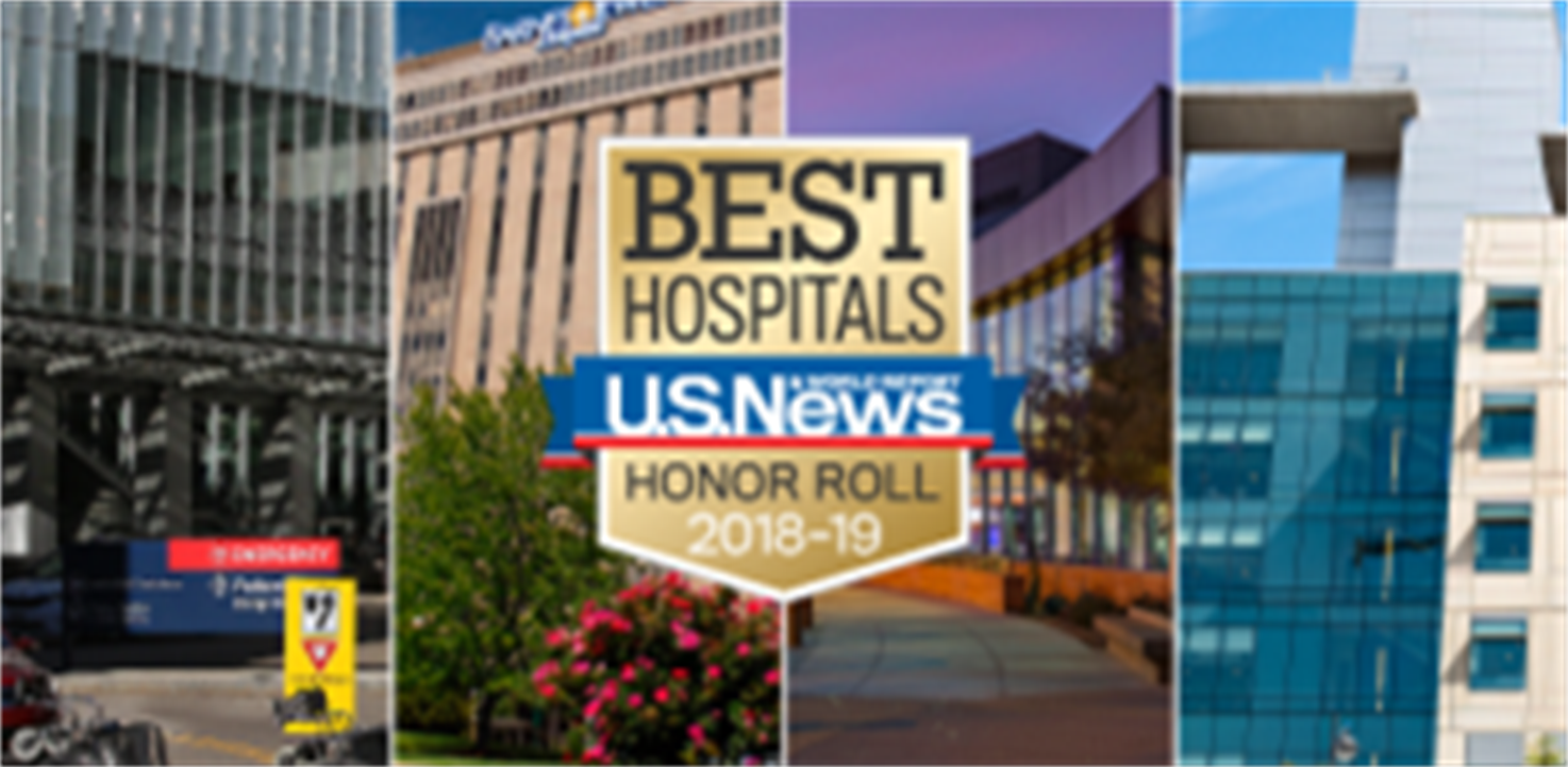 Mayo Clinic tops the US News & World Report Best Hospital Rankings for 2018-2019