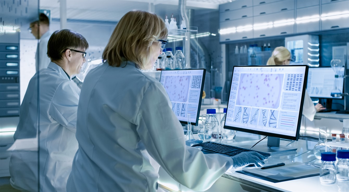 Scientists in Lab - istock