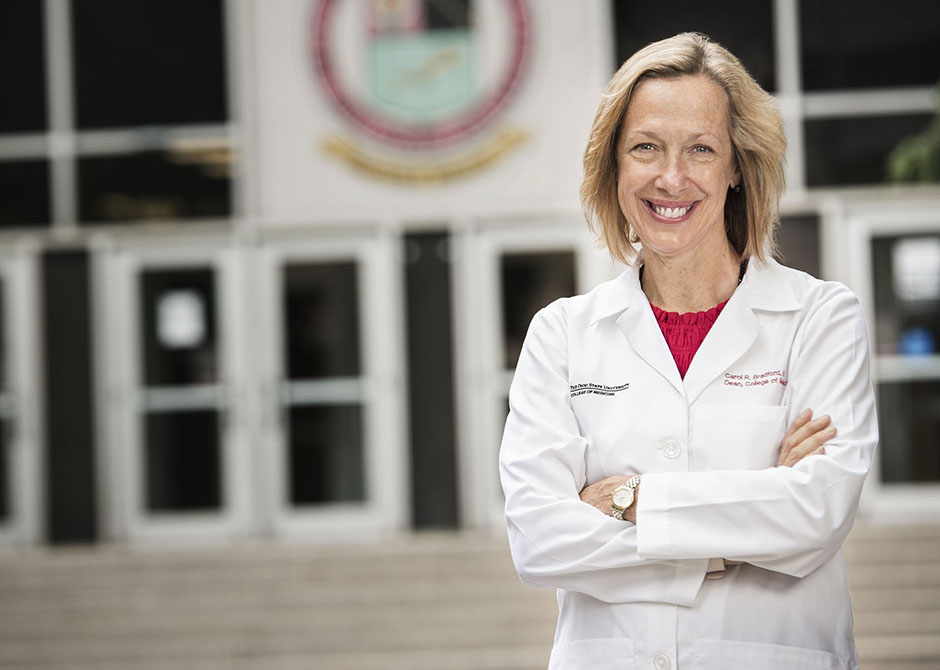 Dr. Carol Bradford recruited as the new Dean for the Ohio State University College of Medicine