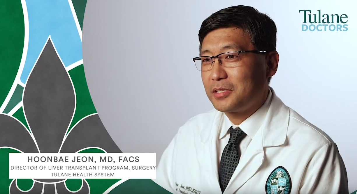 Dr. Hoonbae Jeon - Director of Liver Transplant at Tulane University