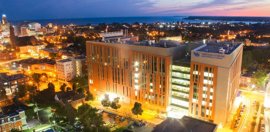 UB's new High-Tech Medical School